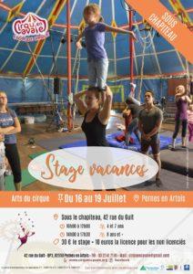 Stage cirque Juillet 2019 - Pernes @ Pernes-en-Artois