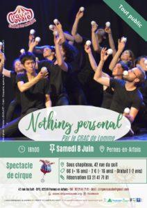 « NOTHING PERSONAL » par le CRAC de Lomme @ Pernes en artois