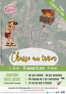 """Hors-Piste Chasse au Trésor"""" @ Pernes"""